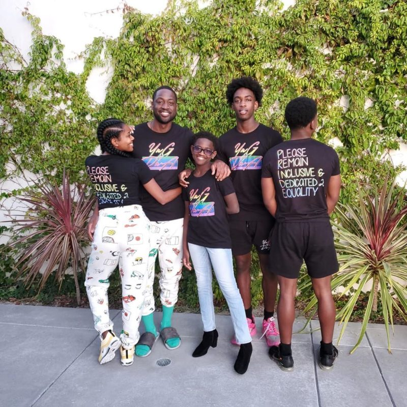 Dwyane Wade, Gabrielle Union Proud of Daughter for Being True Self