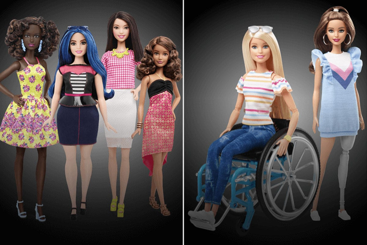 Mattel Launches the Most Diverse Line of Barbies Ever in Order to Better Reflect Today's World