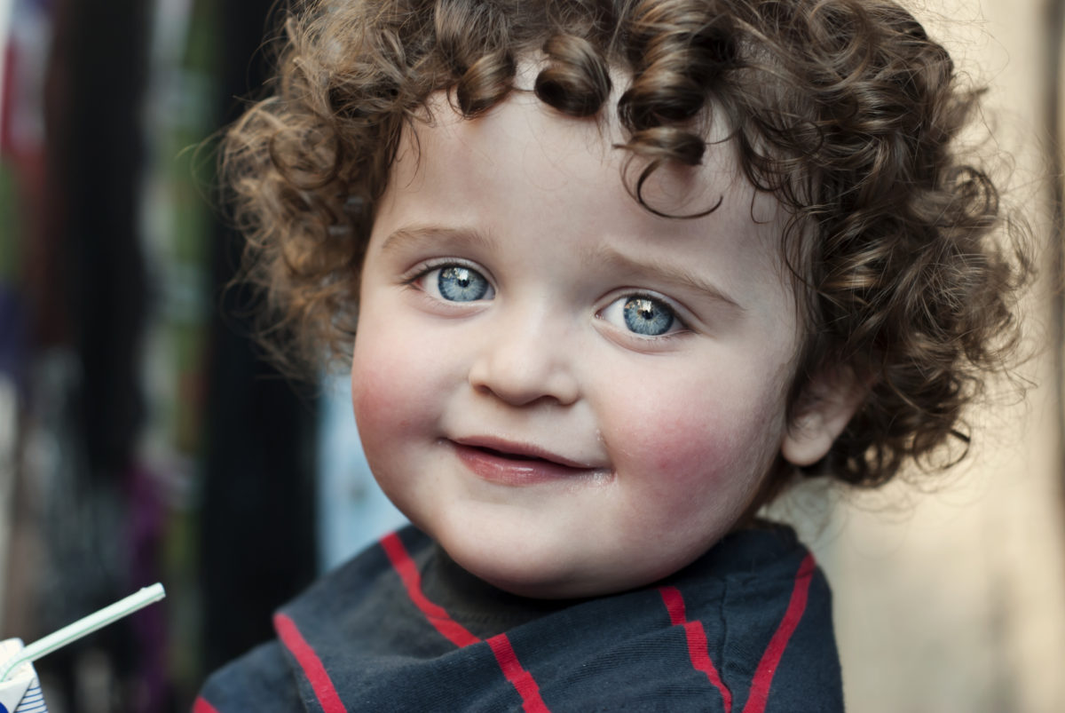 Curly Haired blue eyed toddler 30 Irish-Inspired Baby Names for Boys and Girls