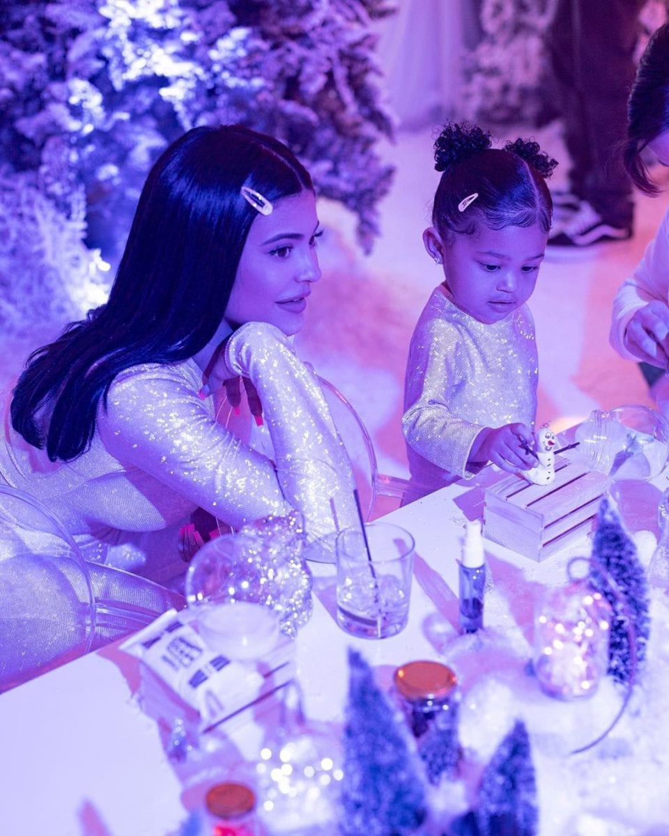 """billionaire kylie jenner put together an entire theme park to celebrate stormi's second birthday party 