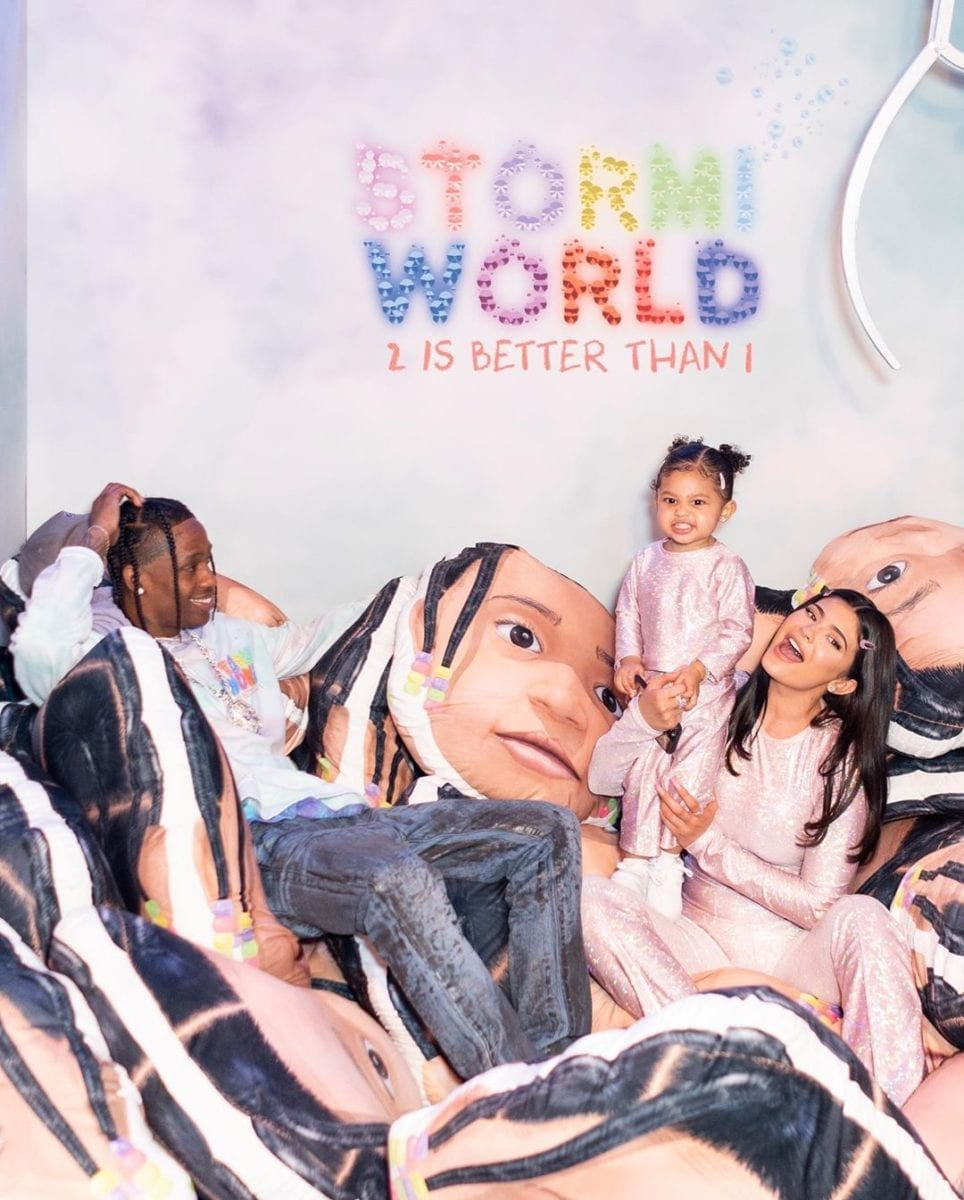 kylie jenner throws stormi over the top 2nd birthday party