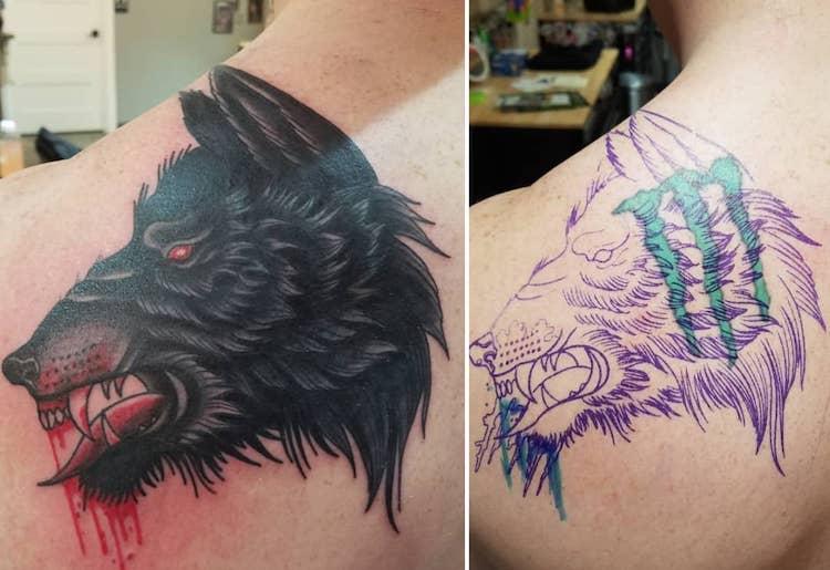 25 ingenious tattoo coverup ideas