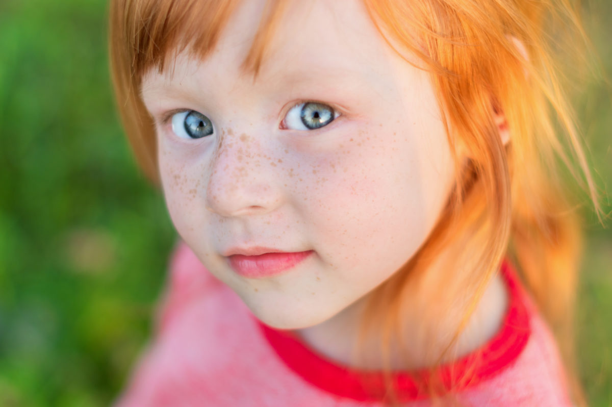 Red haired freckled toddler 30 Irish-Inspired Baby Names for Boys and Girls