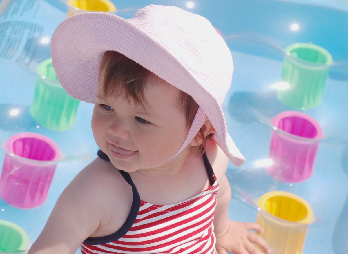 Red Haired Baby at pool 30 Irish-Inspired Baby Names for Boys and Girls