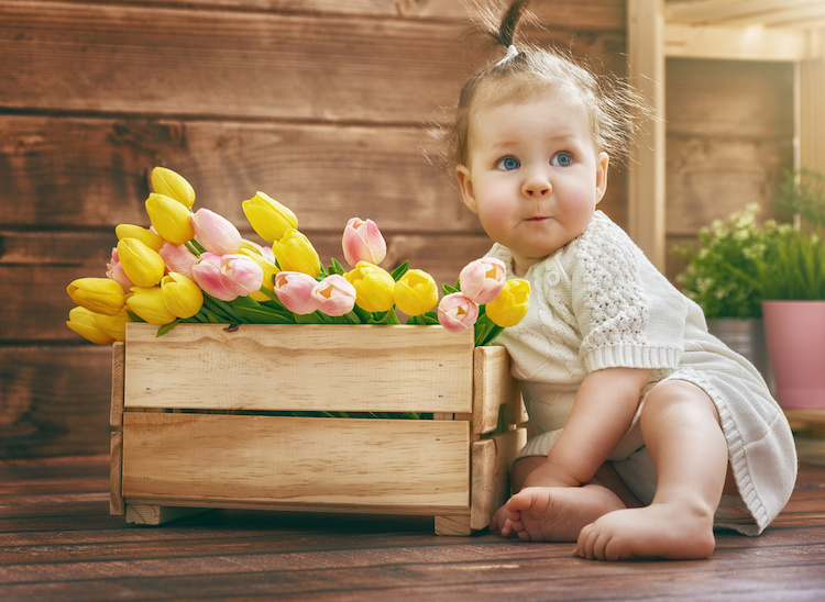 30 beautiful spring-inspired baby names for girls, ranked by uniqueness