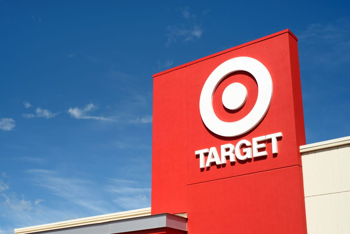 viral: photo of toddler in wheelchair looking at target ad