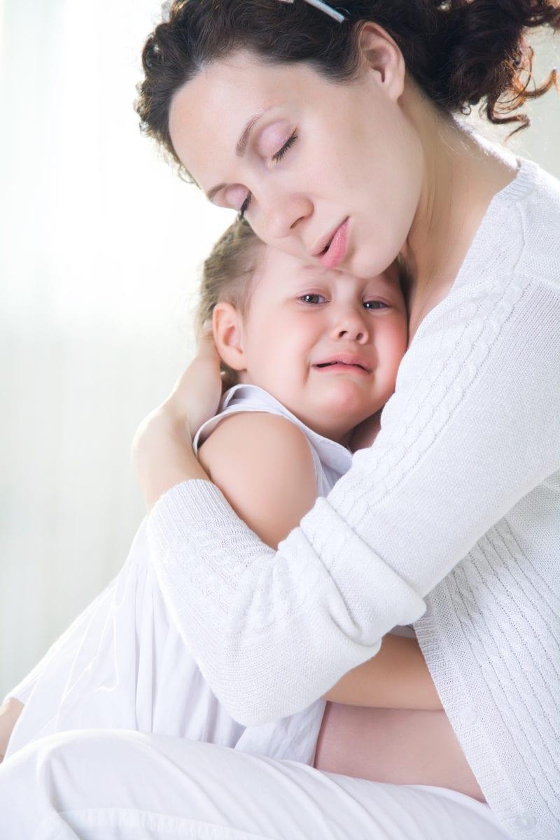 mom feels guilty for leaving her kids