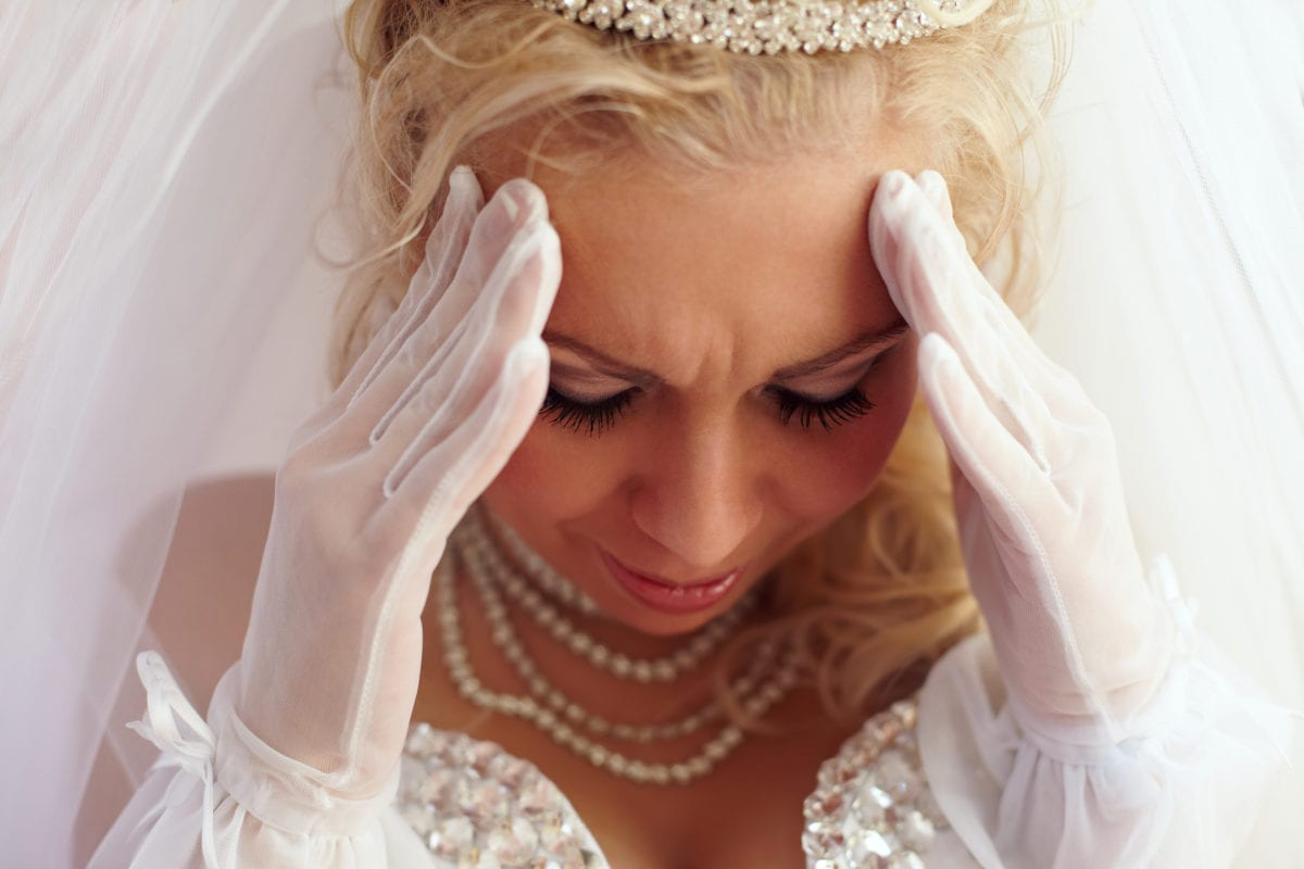 bride asks 'aita' for being livid with her sister-in-law after she gave birth just before her wedding, canceling the celebration
