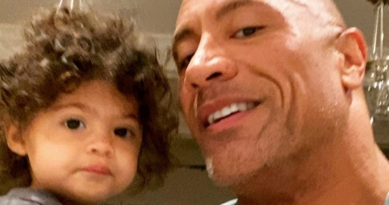 "Dwayne ""The Rock"" Johnson Posts Sweet Video With 23-Month-Old Daughter On International Woman's Day"