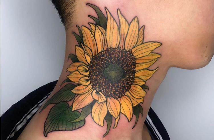 35 neck tattoos