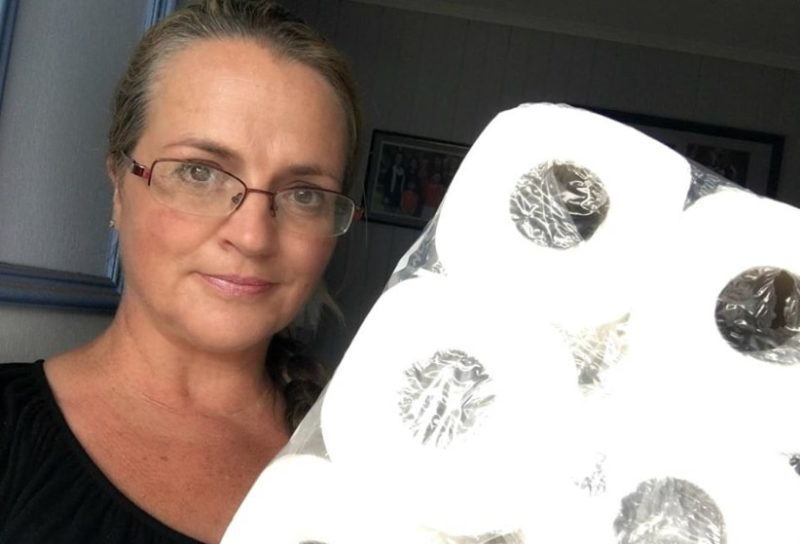 """mother of 16 shuts down woman who shames her in public for """"hoarding"""" coveted toilet paper"""