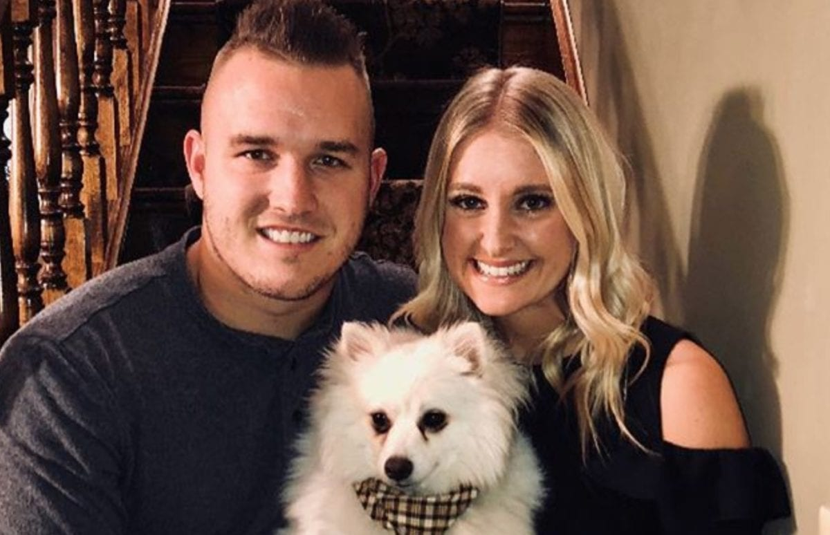 """mlb star mike trout and his wife jessica cox expecting first child together: 'i don't even know where to begin' 