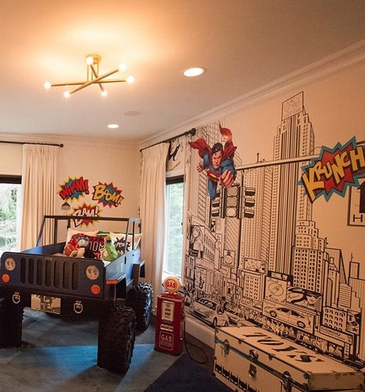 Pregnant Ciara Gives Tour of Son's Epic Superhero Room and Daughter's Cozy Nursery