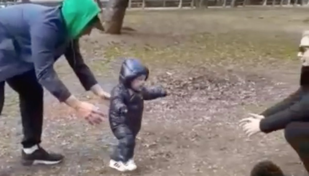 Amy Schumer Shares Video of Her 10-Month-Old Son Taking Some of His First Steps— 'Nailing It'