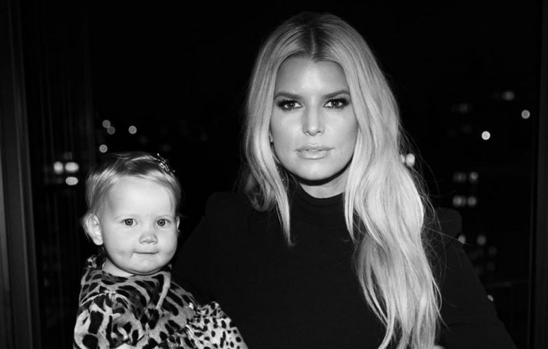 Jessica Simpson Shares Precious Photo of Baby Birdie Just Before Her First Birthday
