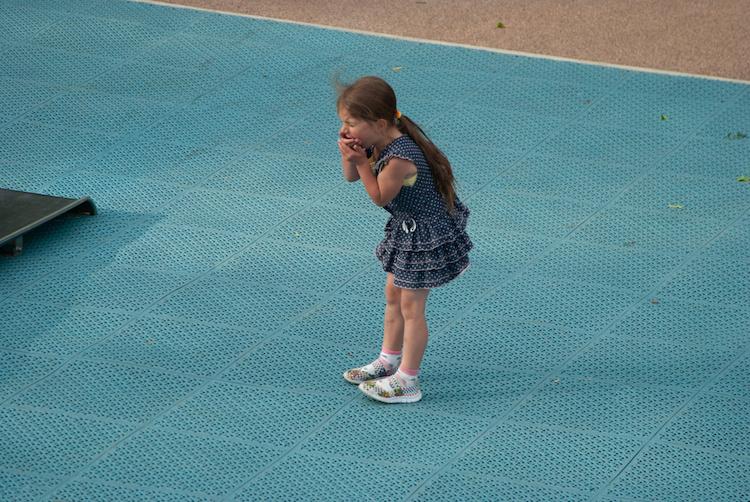 before school closures, kids were playing 'coronavirus tag' on the playground
