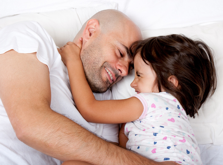 Is It Weird That My Oldest Daughter Sleeps In the Same Bed as Her Father When She Visits Him?