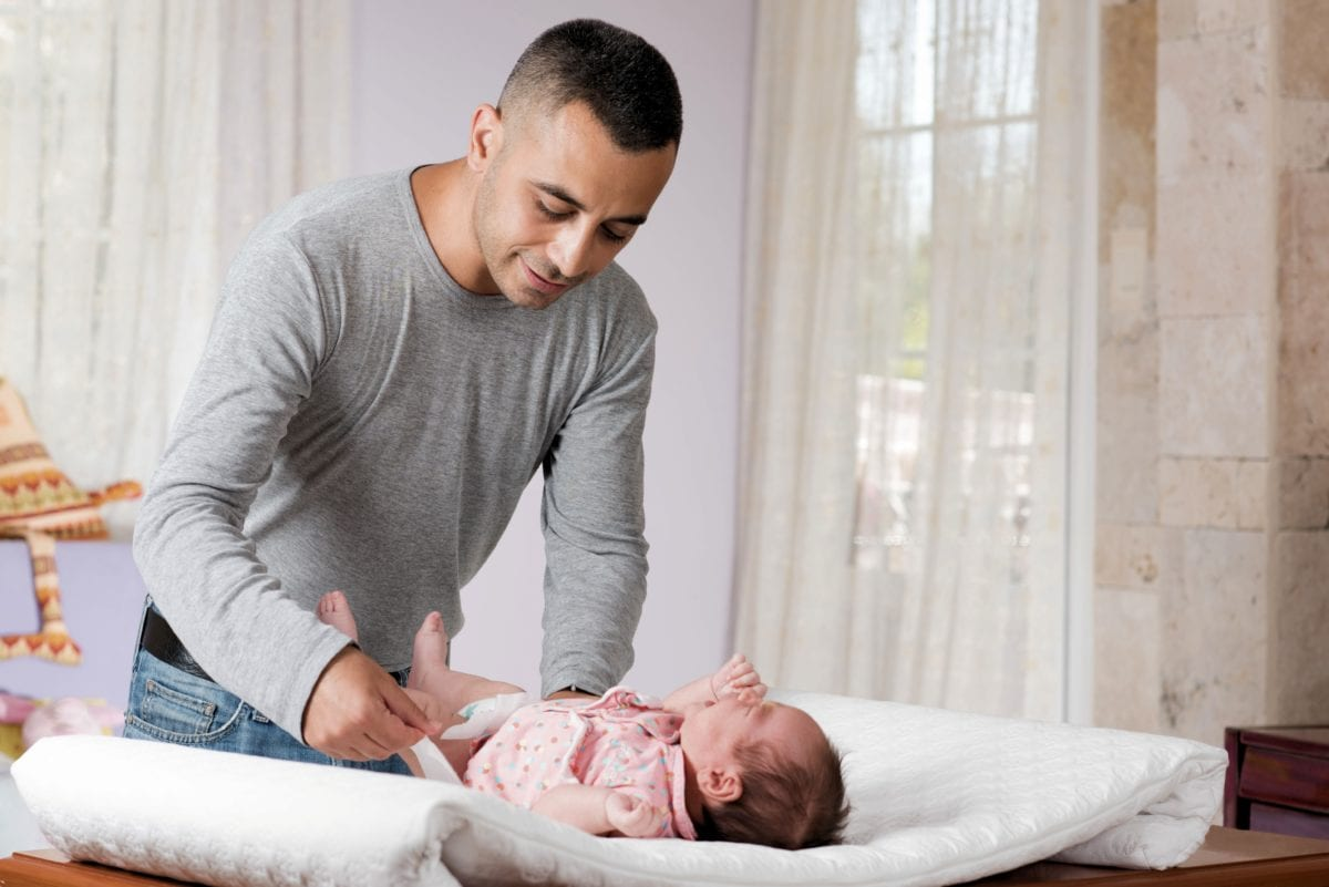 Is Dad Wrong for Using a Women's Restroom to Change a Baby?