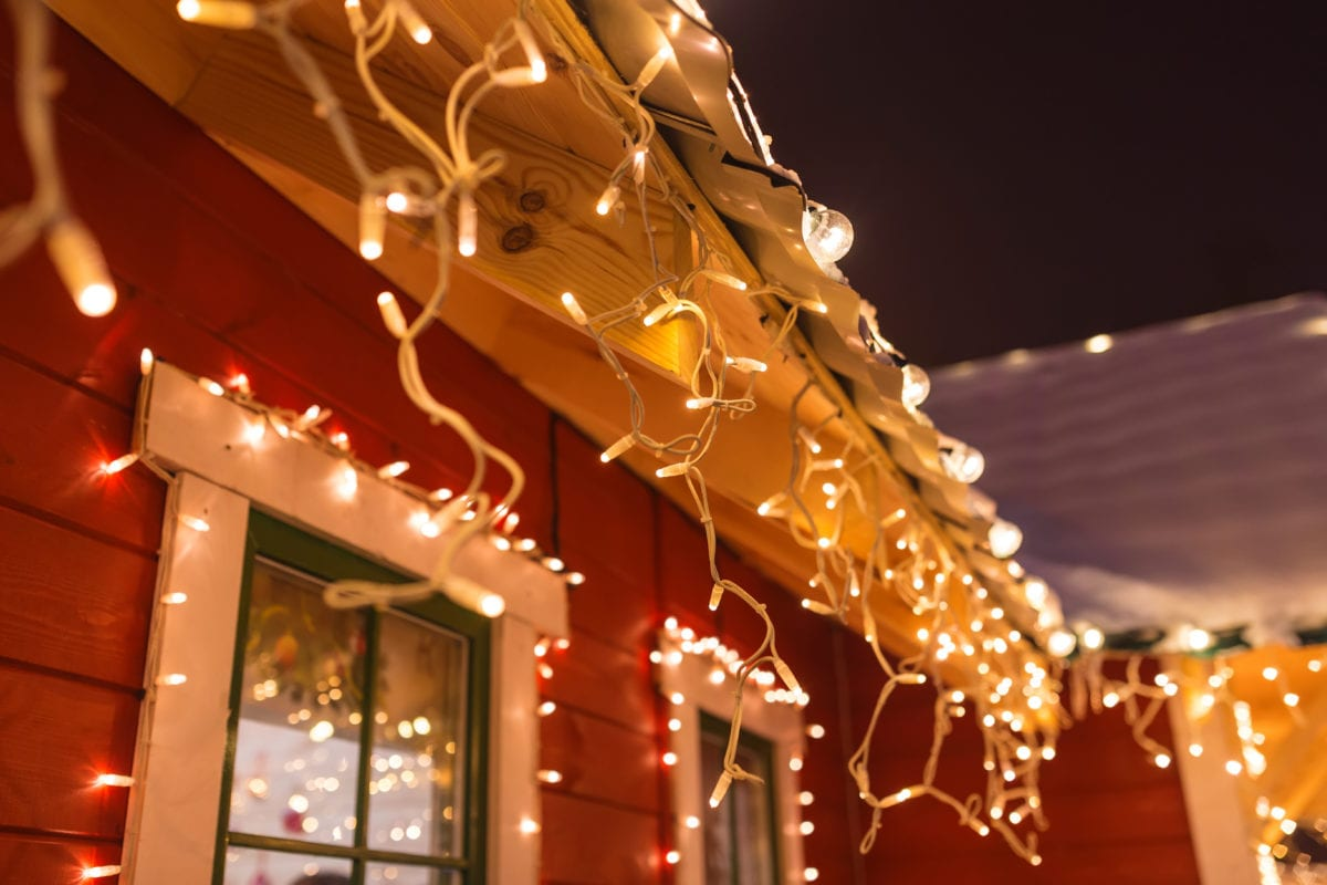 amidst a pandemic, people are spreading good cheer by decorating their homes with christmas lights