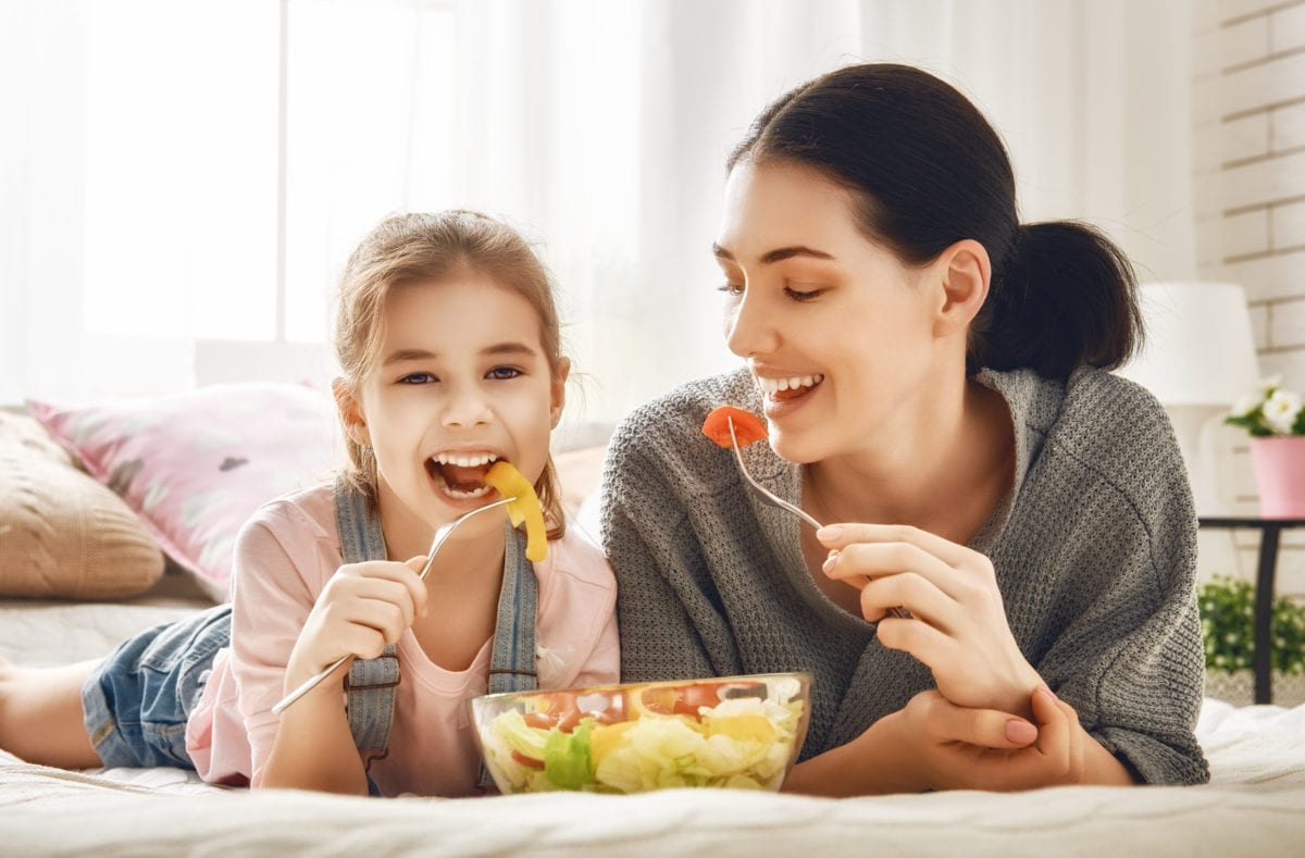 wife asks aita after husband shames her for not sharing her food with their daughter after daughter asks for a fry | a mom recently posted on reddit to ask readers if she was a terrible mom for not sharing her food with her 4-year-old.