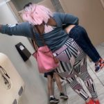 Moms Share the Story Behind Viral Parenting Moment Caught While Both of the Moms Were Using Their Local Hobby Lobby's Bathroom
