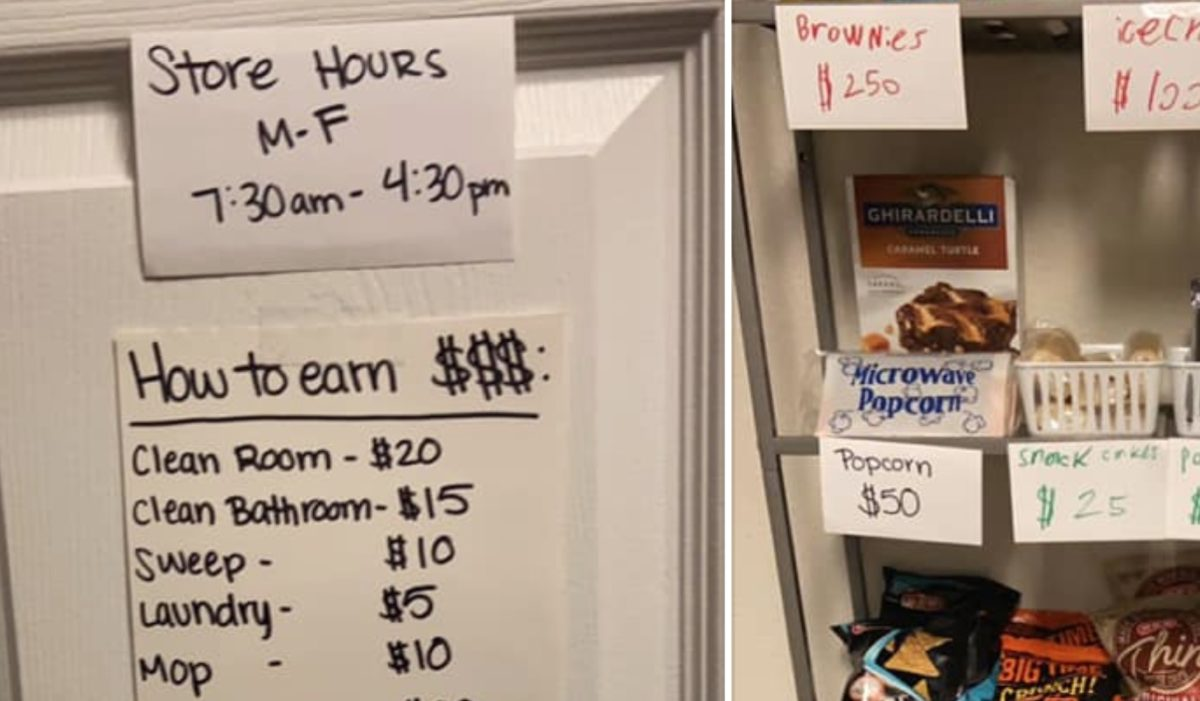 Mom Shares Her Genius Snack and Chore System She Put in Place For Her Son While She's Working From Home