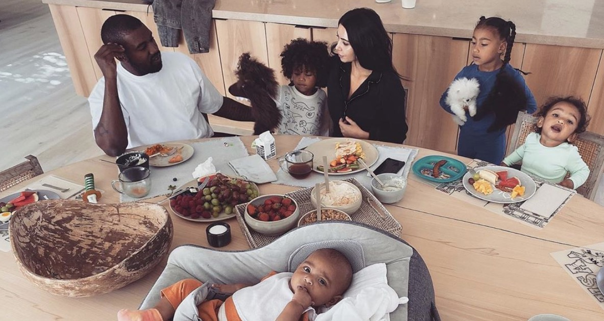 Kim Kardashian West Admits the Possibility of Having a Fifth Kid Is Off the Table After Being Isolated With the Four She Already Has