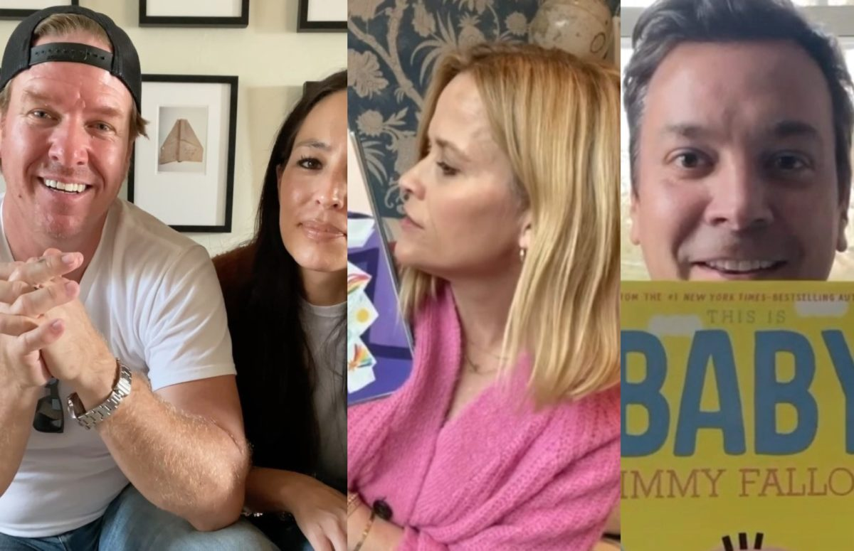 Chip, Reese, Jimmy, and So Many More Celebrities Are Sharing Videos of Themselves Reading Children's Books to Help #SaveWithStories Raise Money For No Kid Hungry