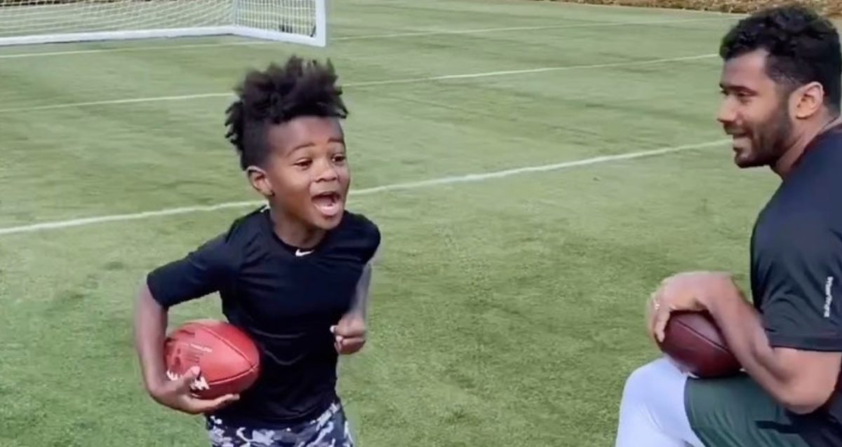 This Is How Some of The World's Best Athletes Are Spending Their Time With Their Kids