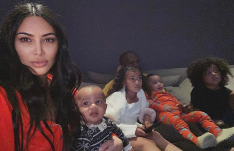 North West, Serial Party Crasher, Interrupts Kim Kardashian's PSA About Social Distancing