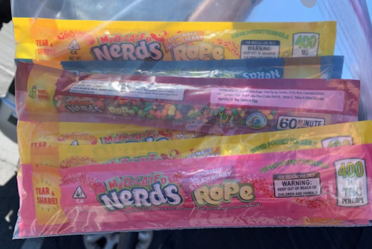 candy laced with thc from local food bank sent 2 kids to the hospital