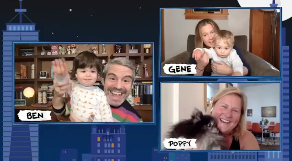 Amy Schumer and Andy Cohen Bring Their Sons Into Their Live Interview For a Quick Virtual Playdate and It's Cuteness Overload