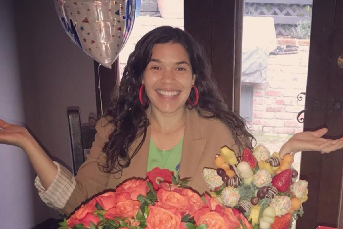 Actress and Expectant Mom America Ferrera Shares Empowering Message for Other Women Who are Pregnant During This Pandemic