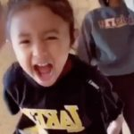 Vanessa Bryant's 3-Year-Old Daughter's Video-Bomb Is the Cutest Thing You'll See All Day