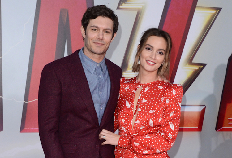 Leighton Meester Adam Brody Pregnant with Child Number 2