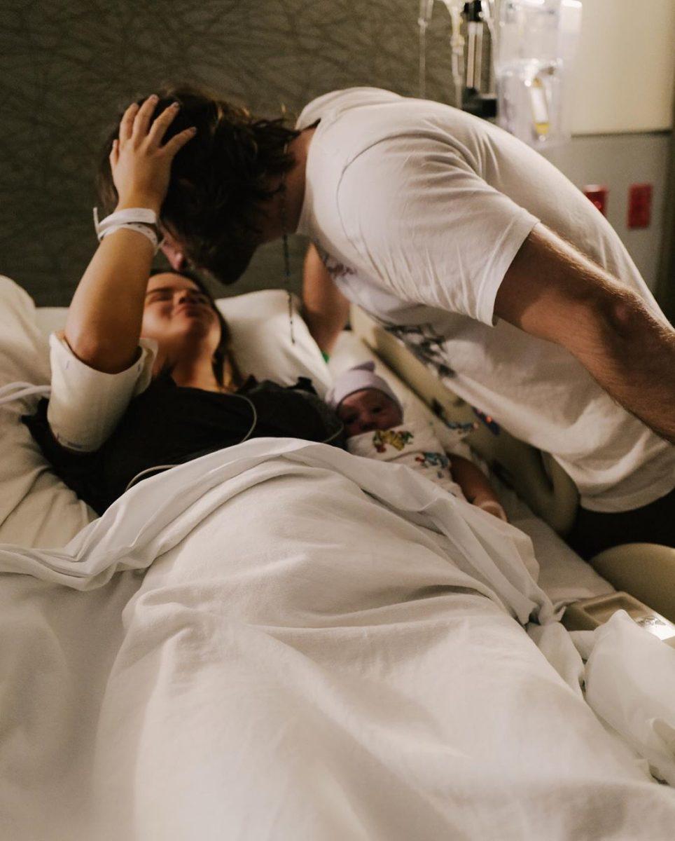 maren morris details birth: 30 hour labor, emergency c-section
