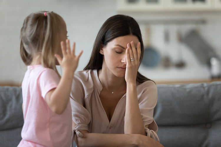 My Toddler Has Started Smacking Me — Just Me! — Quite Hard: Advice?