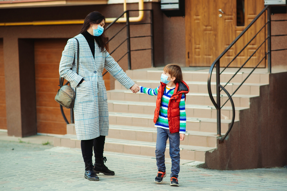 do i have the right to keep my son from his father during quarantine?