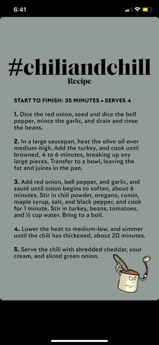 Ayesha Curry Shares 25 Minute Easy Turkey Chili Recipe