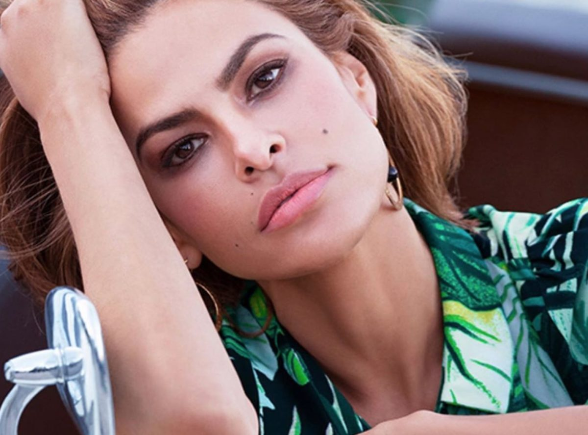 Eva Mendes Dawns Elaborately Colorful Makeover By Kids