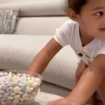 Kylie Jenner Shares New Challenge Video of Stormi Practicing Patience and It's Pretty Dang Adorable