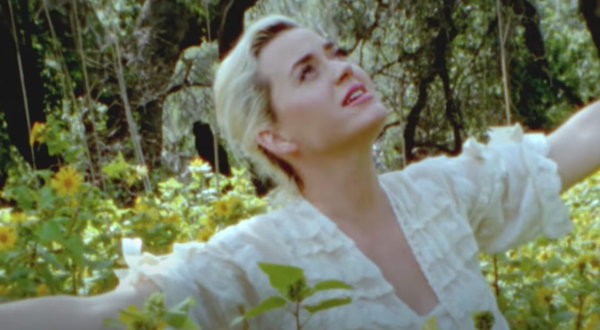 Katy Perry Gets Naked, Bares Baby Bump In Newest Music Video