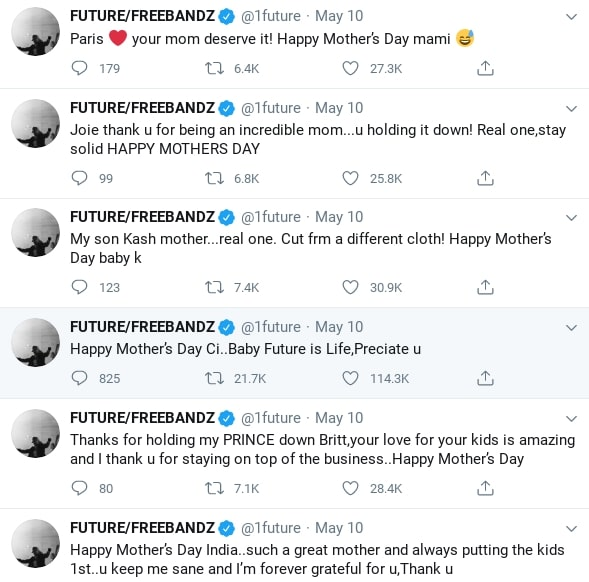 future and diplo had a hectic mother's day