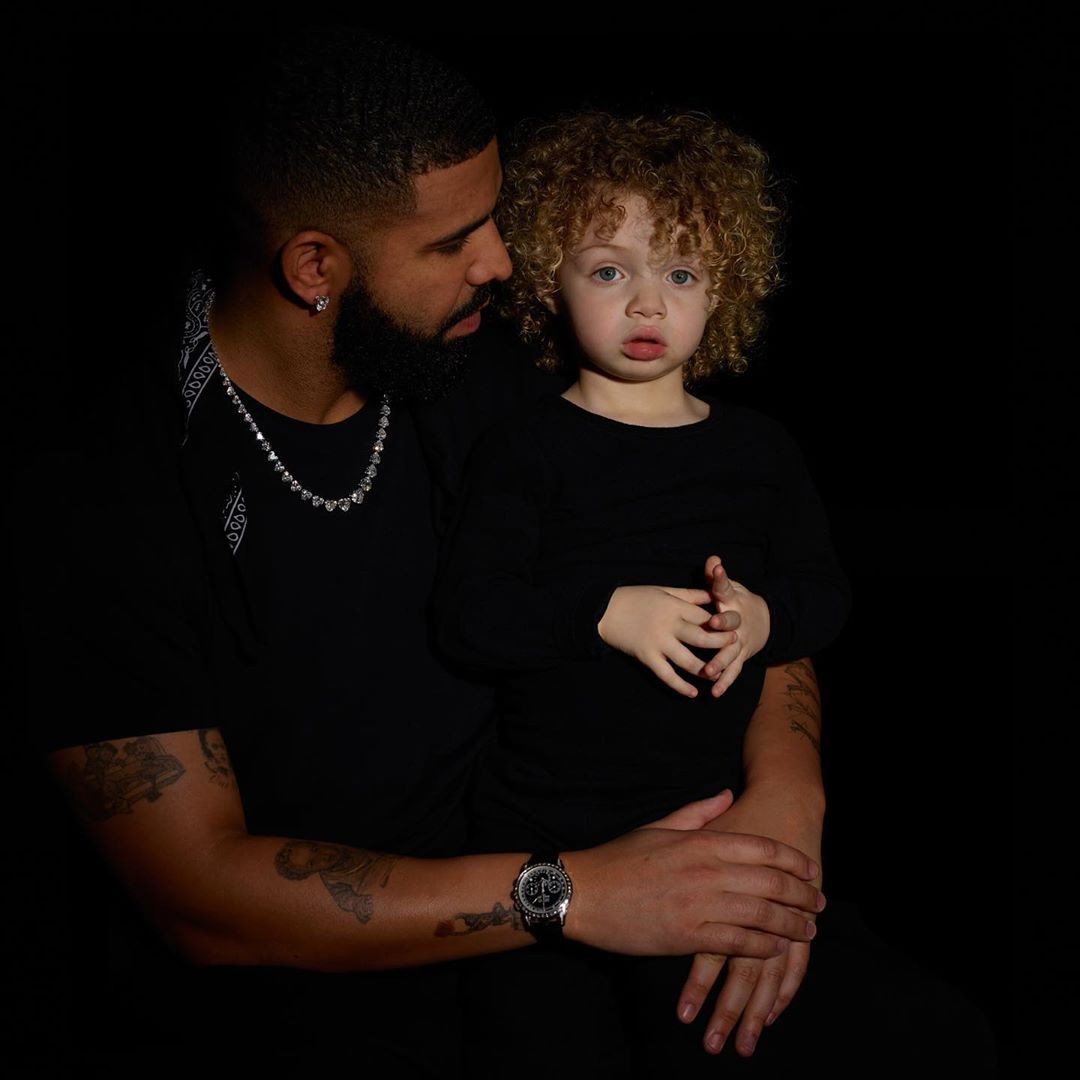 """drake says he's happy he finally shared his son adonis with the world years after his birth 