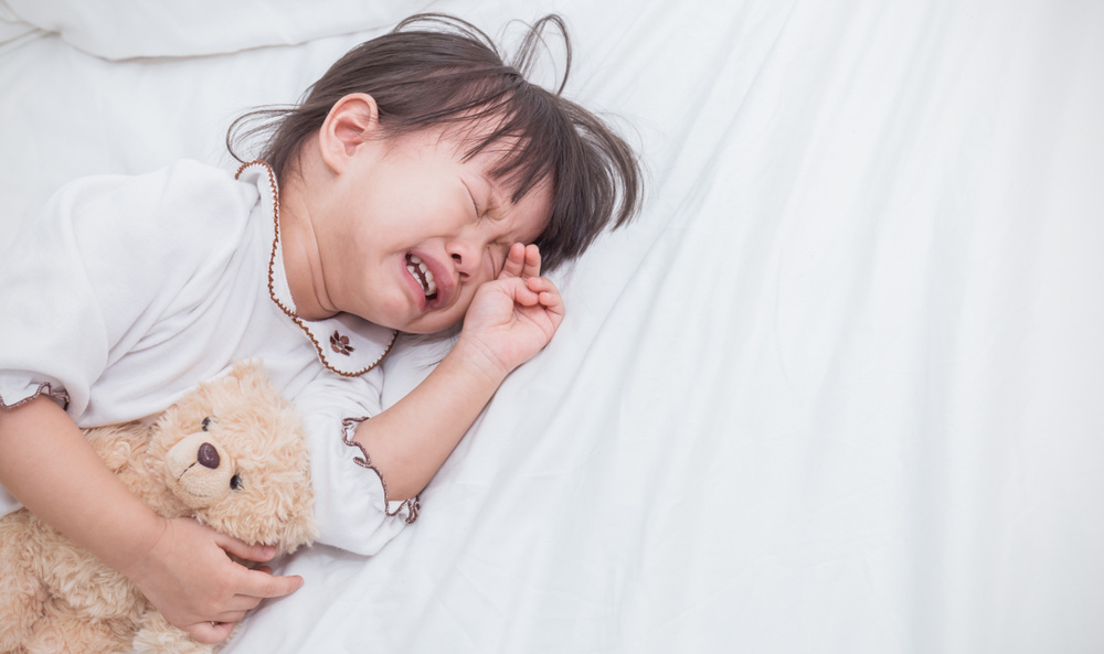 my daughter wakes up almost every night, screaming from nightmares: advice?