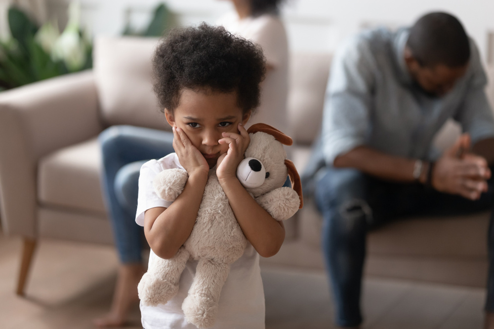 how do i explain to my 2-year-old that his father and i are no longer together?