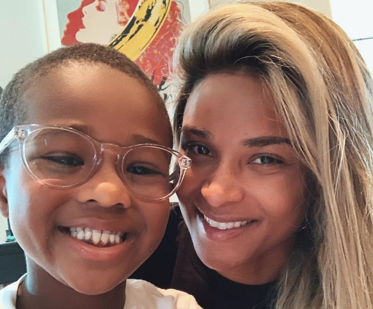 Ciara Writes Message To 6-Year-Old Amidst Protests