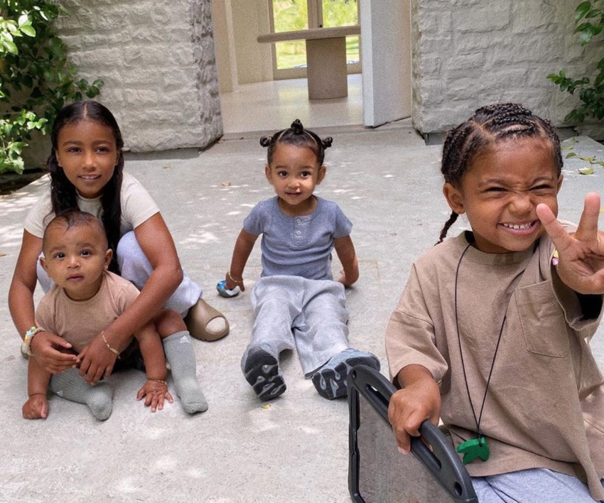 Kim Kardashian Shares Adorable Photo Of West Family