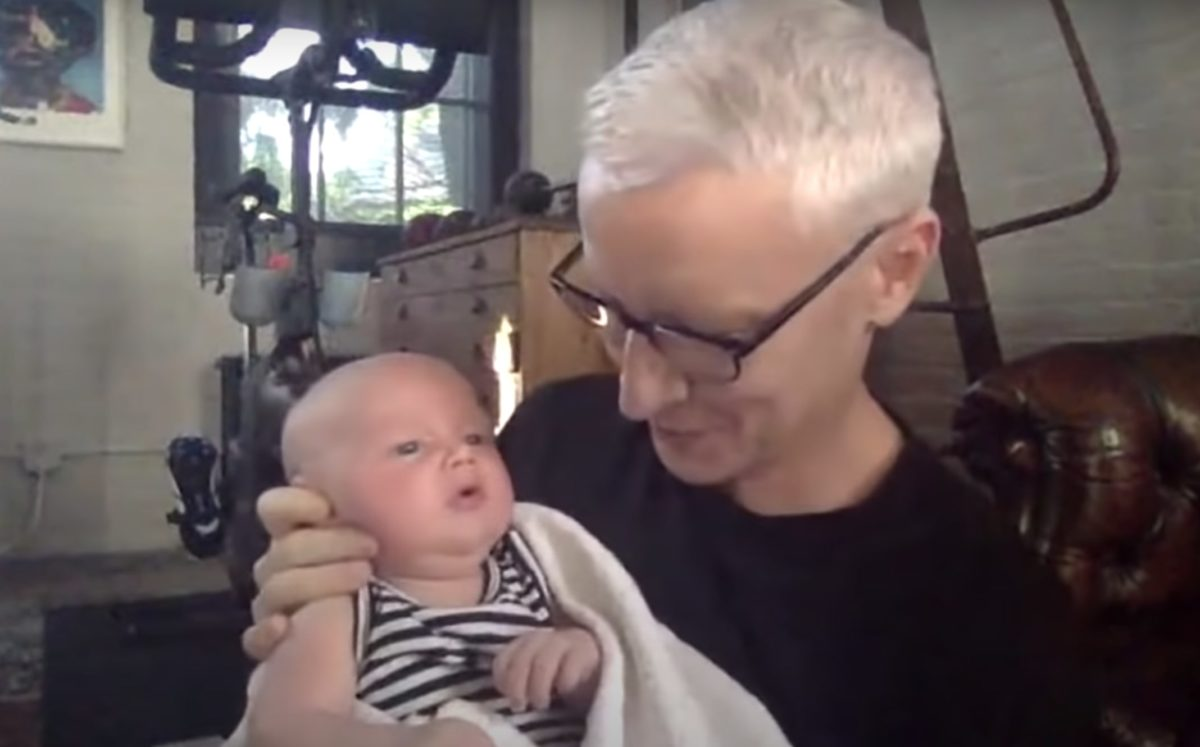 andy cohen and anderson cooper introduce their sons virtually