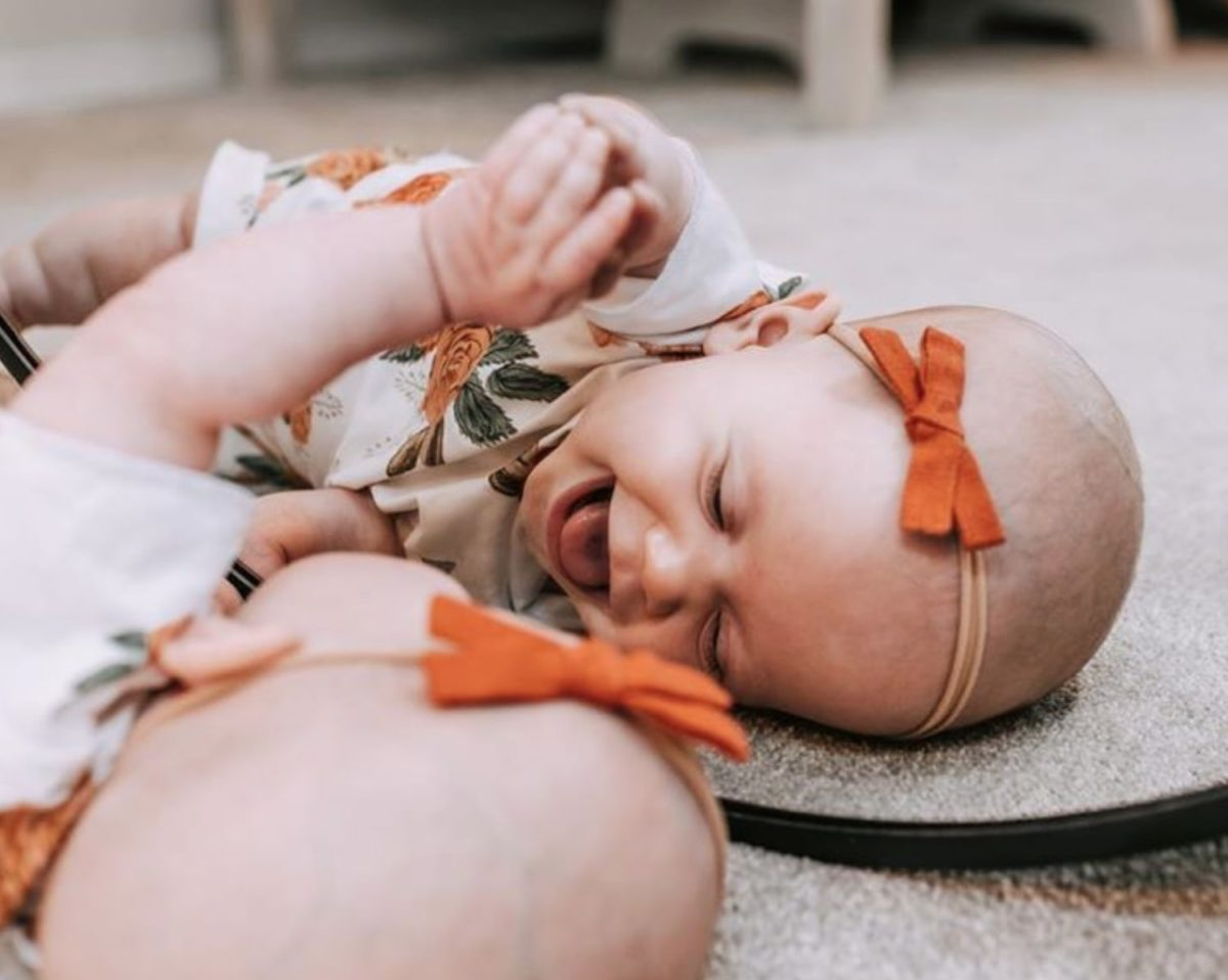 tori and zach roloff's baby lilah mirror pics are so sweet